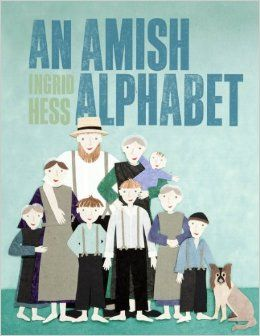 Amish Alphabet, An Ingrid Hess Menno Media A is for Amish; B is for barn raising; C is for church. What is it like to be Amish? In this delightful and whimsical full-color book, author and illustrator Ingrid Hess offers an entertaining yet informative introduction to Amish faith and life. In a style that will capture the imaginations of children and adults alike, Hess takes readers behind the scenes and invites them to think about living out faith in new ways.  $17.99