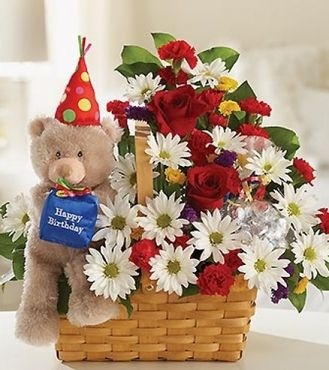 Birthday flower gifts 14 pinterest ask for lotsa love birthday flowers gift negle Choice Image