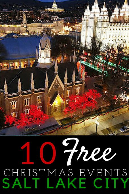 10 Free Things to do at Christmas in Salt Lake City