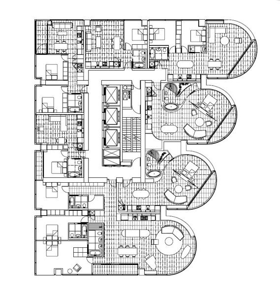 17 best images about penthouse on pinterest nyc for Cool floor plans