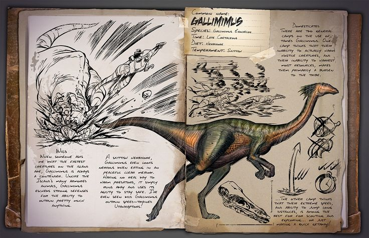 ARK Survival Evolved: Introducing the Gallimimus!