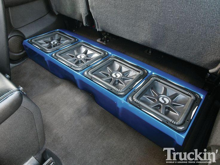 Best 25 2008 chevy silverado ideas on pinterest 2008 silverado 1109tr 082008 chevy silverado 2500 freestylin hdsubs under rear seat sciox Image collections