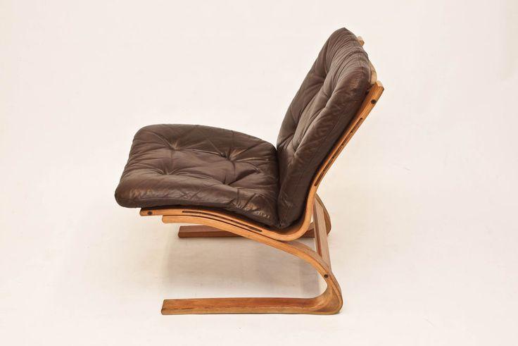 Norwegian Oddvin Rykken Kangoo chair- Danish Vintage Retro Modern