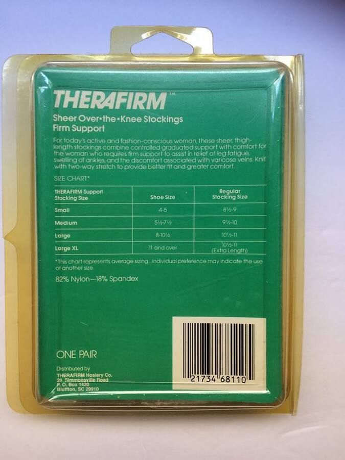 ae16503af8 THERAFIRM THERAPEUTIC COMPRESSION HOSIERY MATERNITY OVER KNEE 21 MMHG# COMPRESSION#HOSIERY#THERAFIRM