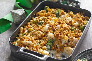 recette de Plat de légumes au gratin croustillant - Kraft Canada