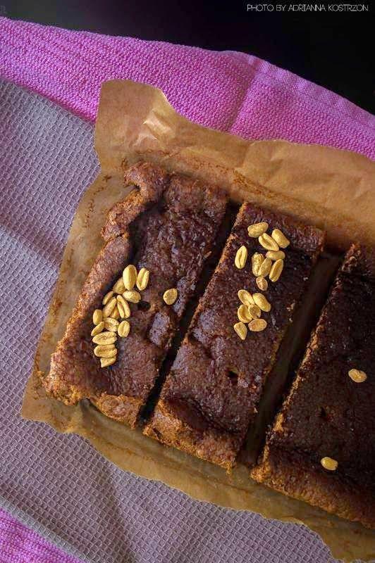 Brownie orzechowe  #gryz #MagazynGRYZ