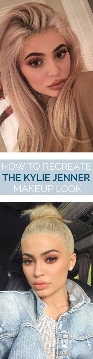 This is the best way you can recreate the Kylie Jenner makeup look!