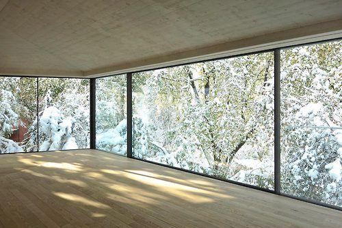 Winter l oliv brunner volk architekten poolhouse z rich for Raumgestaltung von hoegen