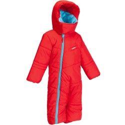 Ski-Overall Schneeanzug Firstheat Baby rot