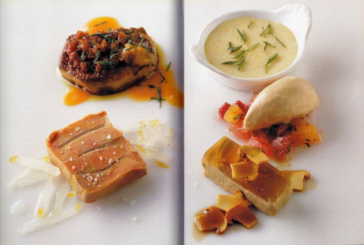 Foie Gras Five Ways from Charlie Trotter