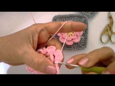 Square Flor ( passo a passo) - YouTube
