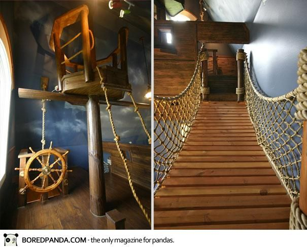 Pirate room ideas! & 91 best Pirate room ideas images on Pinterest | Bedrooms Child room ...