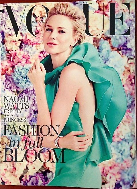Naomi Watts for Vogue Australia February 2013. Stunning!