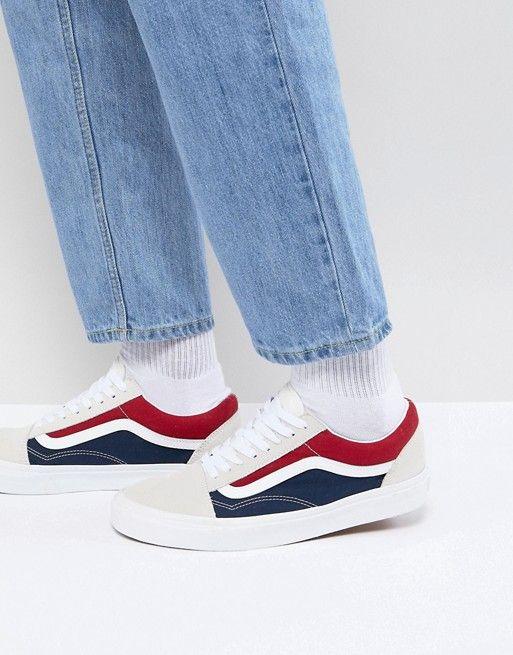 Vans Old Skool Sneakers In White VA38G1QKN  c0a4709c9