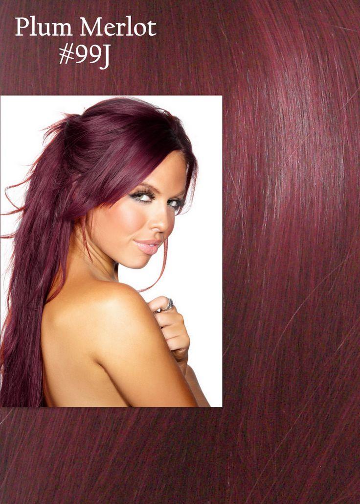 Best 25+ Plum hair highlights ideas on Pinterest | Plum red hair ...