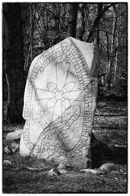 Runestione from the viking ages, Stenhamra, Sweden