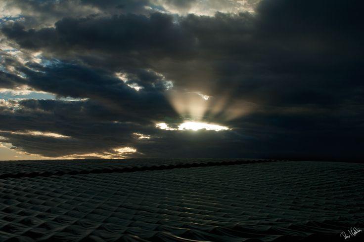 """The sun always shines above the clouds."" Paul F. Davis #MarinadiRagusa"