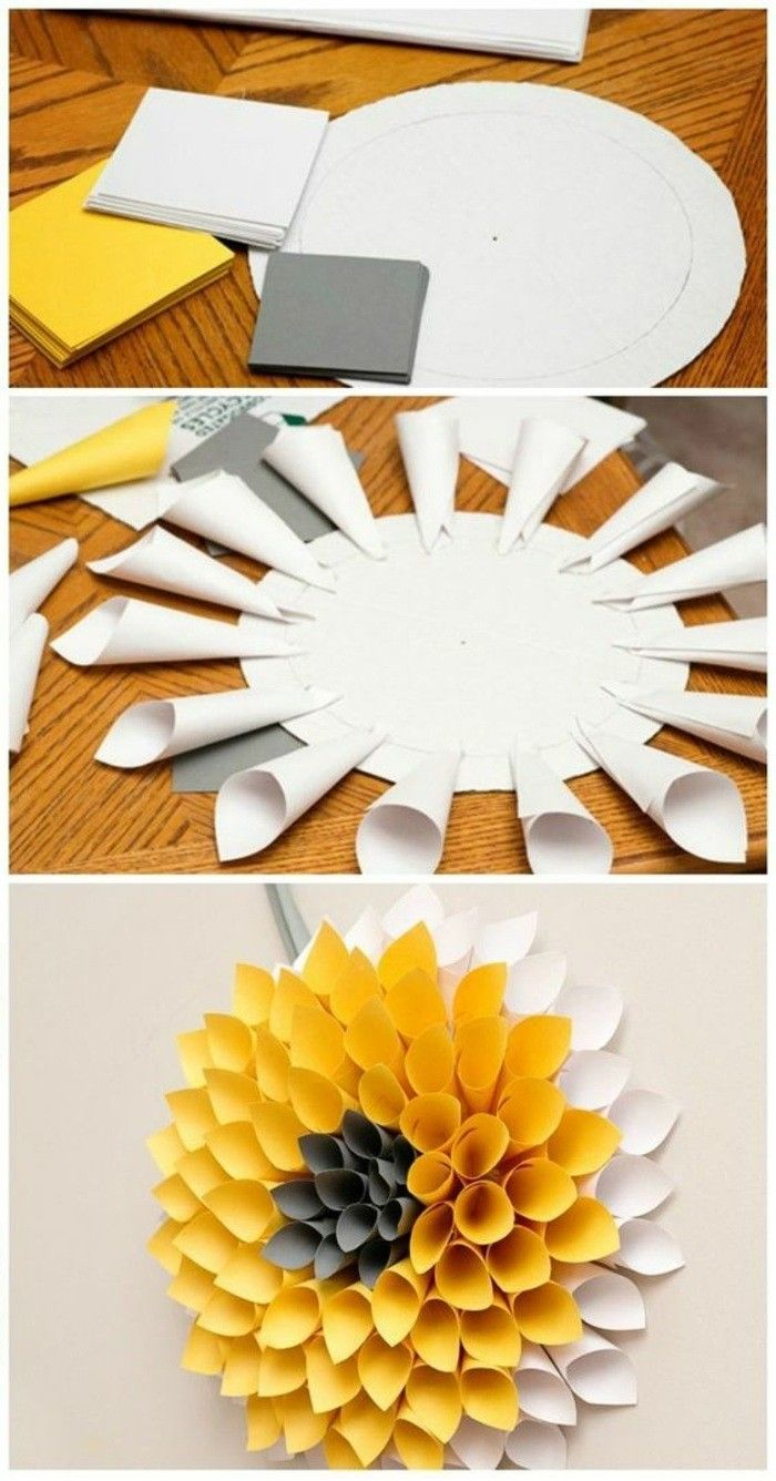 ▷ 1001+ ideas on how to make a creative wall decoration yourself!