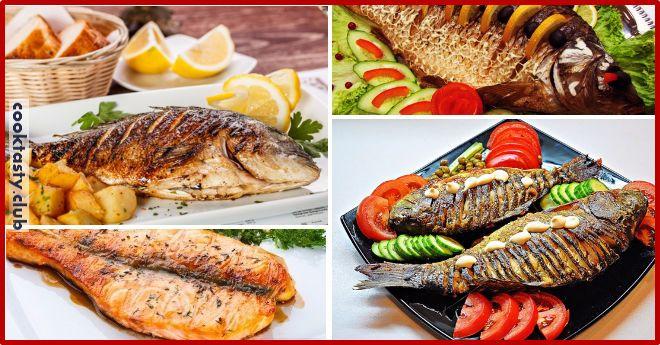 1. Запеканка картофельная с рыбкой Получается изумительная хрустящая сырная корочка! И рыбка, и картошка в сливках со специями приобретают нежный пикантный вкус! Быстро, легко и вкусно! Рецепт для уютного семейного ужина, все будут довольны и сыты. Ингредиенты: 5-6 картофеля 500 г рыбы 2 помидора 1 большая луковица сыр зелень сливки Приготовление: Многие соблюдают пост, поэтому …