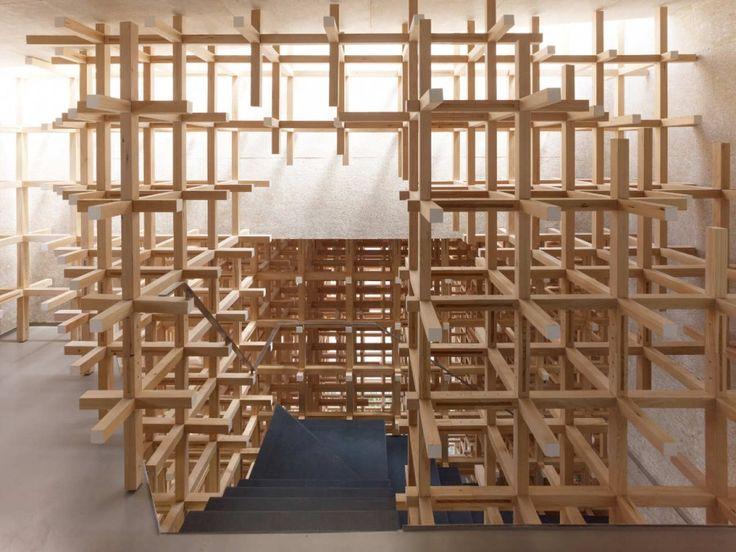 Museo y Centro de Investigación GC Prostho / Kengo Kuma & Asociados