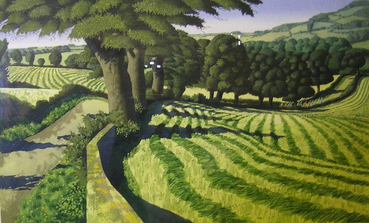 Simon Palmer,  watercolour, sold for £3290.