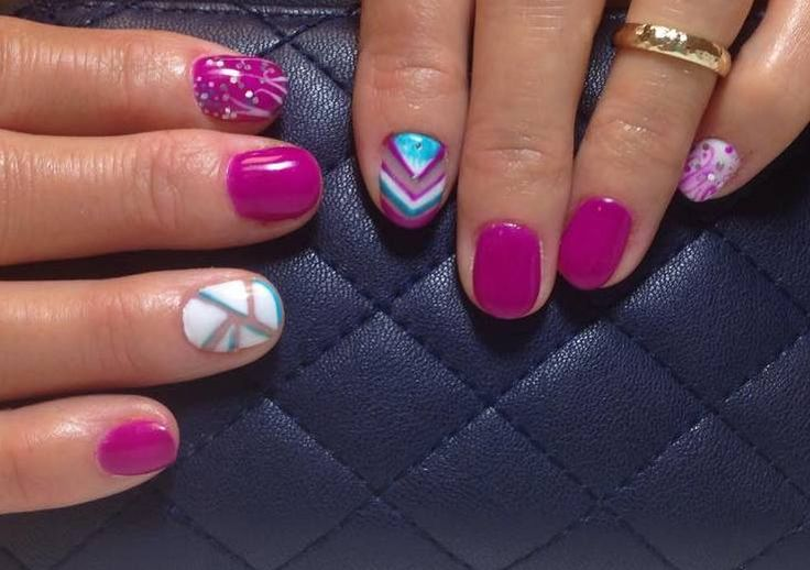 Nail art by our experience therapists. |