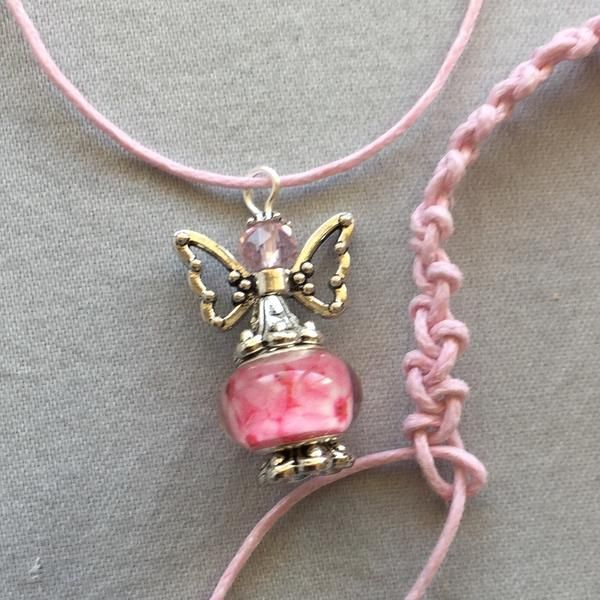 Angel Charm Pendant necklace set – Soul4Style