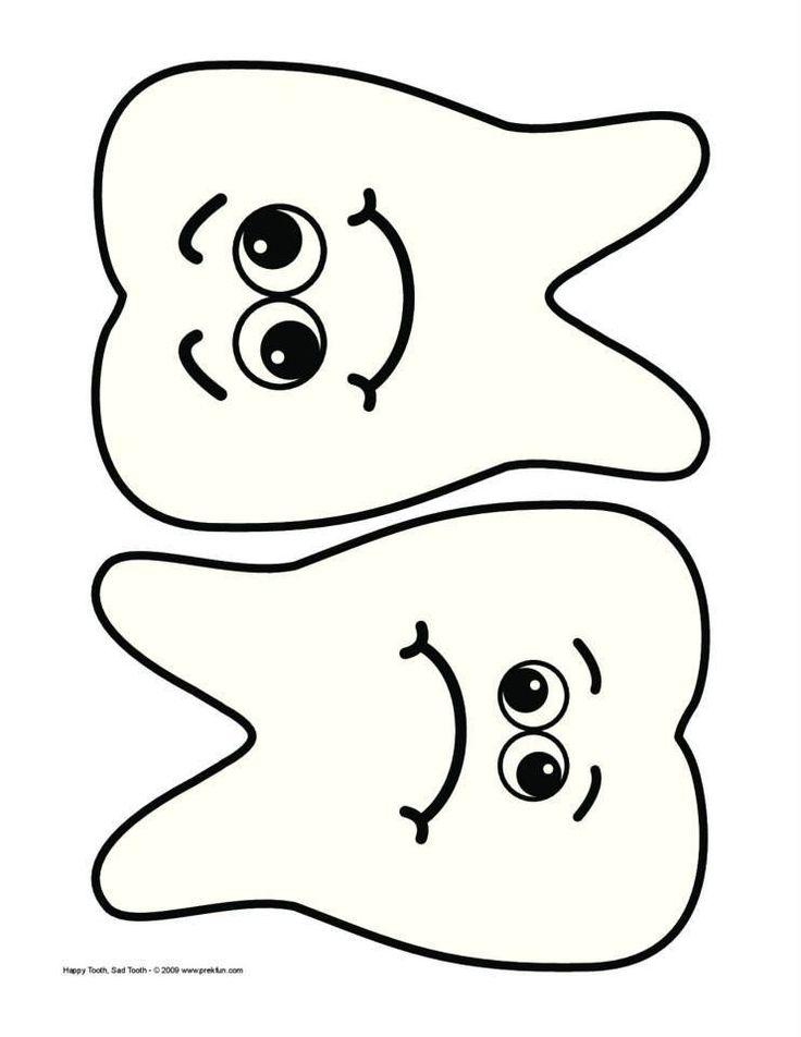 http://www.prekfun.com/themes/prekthemes/a-f/dental_hygiene/Printables/HappyTooth_SadTooth.pdf