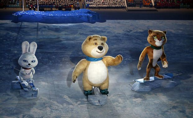 """Sochi Olympics opening ceremony: """"Welcome to the center of the universe!"""" - CBS News"""