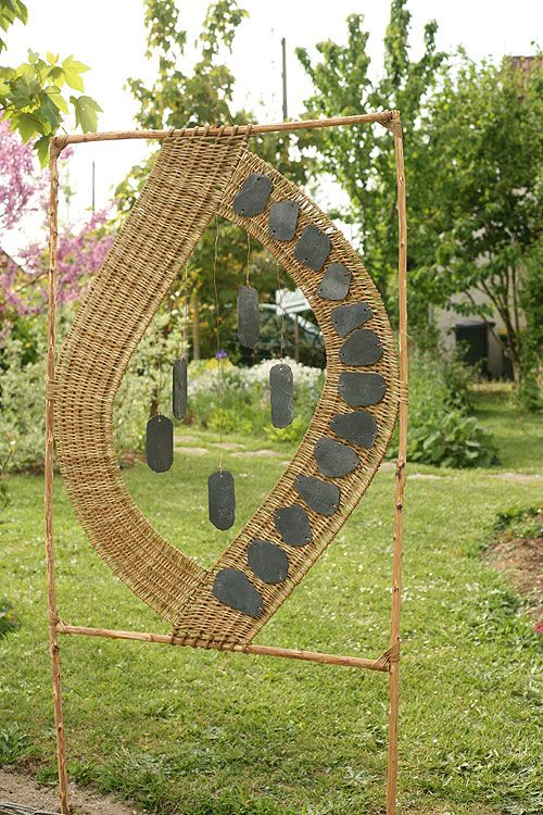 213 best ideeen voor buiten gemaakt in wilgentenen images on pinterest wicker basket weaving. Black Bedroom Furniture Sets. Home Design Ideas