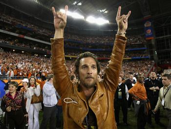Matthew McConaughey - University of Texas