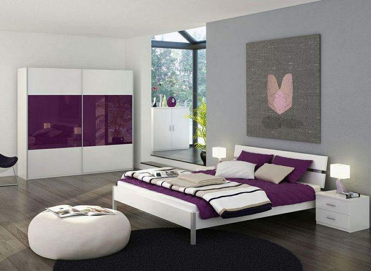 Plum  grey and white bedroom ideas. 16 best Plum and grey room ideas images on Pinterest