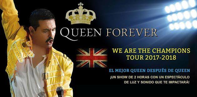 Queen Forever en Santiago de Compostela. Ocio en Galicia | Ocio en Santiago. Agenda actividades. Cine, conciertos, espectaculos