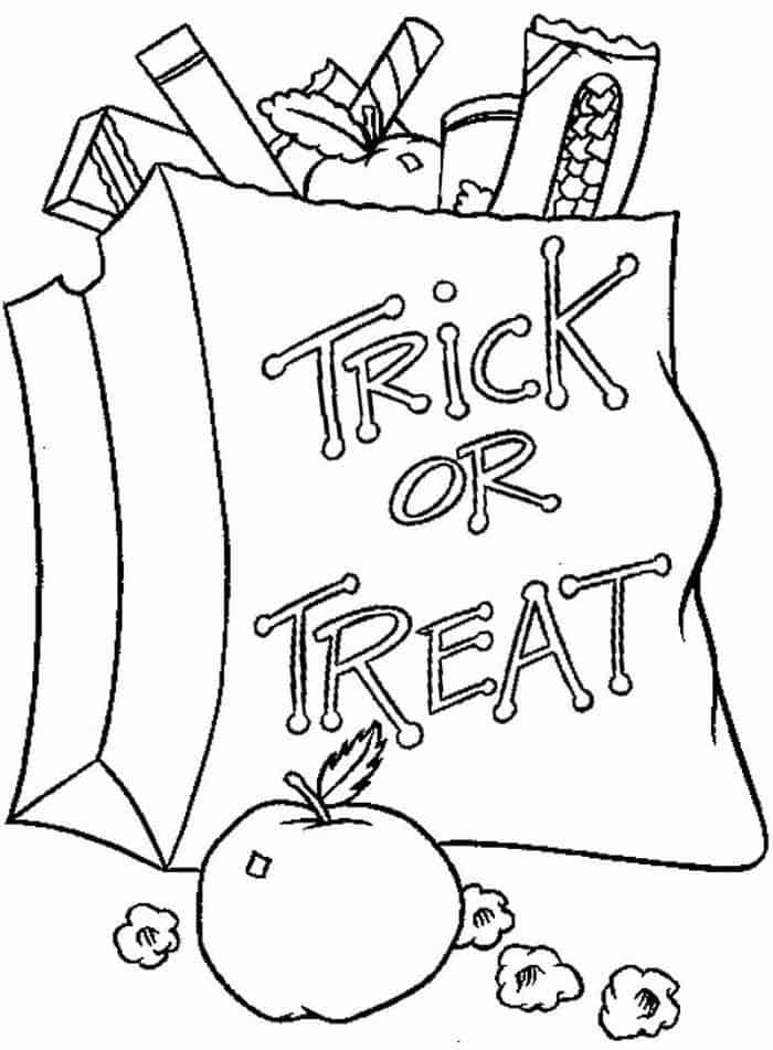 Coloring Pages Of Halloween Candy In 2020 Candy Coloring Pages Coloring Pages Apple Coloring Pages