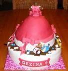 assepoester jurk taart - Google zoeken