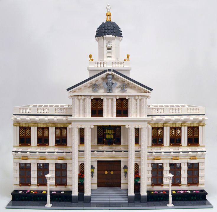 49 Best Lego Courthouse Images On Pinterest Bricks