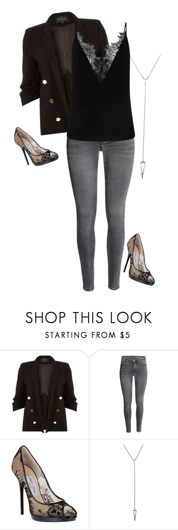 """""""Valencia Perez 1.2 {Crazy Ex-Girlfriend}"""" by sarah-natalie ❤ liked on Polyvore featuring River Island, Jimmy Choo, cw, crazyexgirlfriend, ValenciaPerez and plus size clothing"""