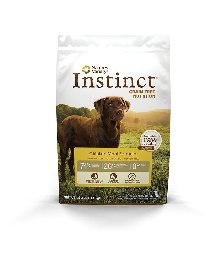 Nature's Variety Instinct Grain-Free Dry Dog Food => More infor at the link of image  : Dog food types