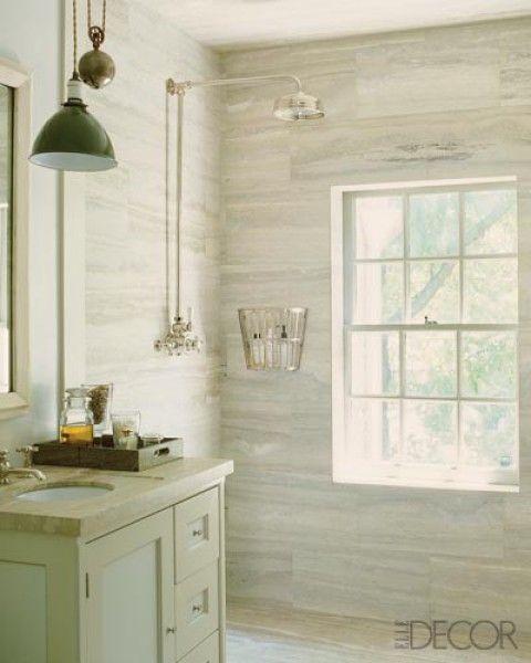 86 best bathrooms images on pinterest bathroom for Elle decor bathroom ideas