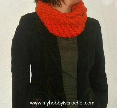 Enjoy this Pretty Crochet Infinity Scarf Doris Pattern, Can find it on my Crochet Jewel site! Crochet Infinity Scarf Doris |