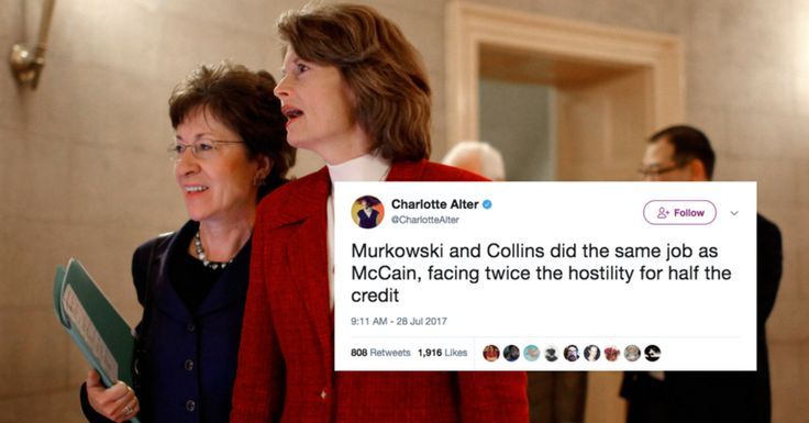 These Two Women Senators Are The Real 'Mavericks' Of The GOP Health Care Vote | HuffPost