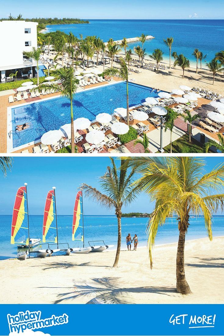 The Riu Palace Jamaica has relaxation written all over it thanks to its in-pool sunloungers, chilled bars, spa facilities and four a la carte restaurants. Click the image for the best deals.