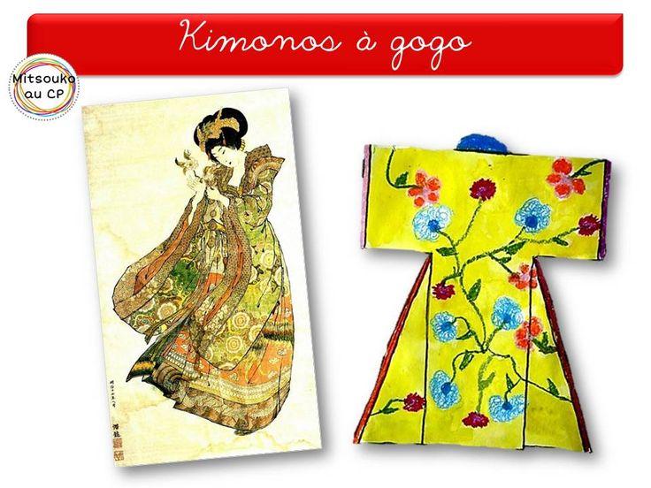 Pour travailler sur les motifs orientaux raffinés et le kimono.