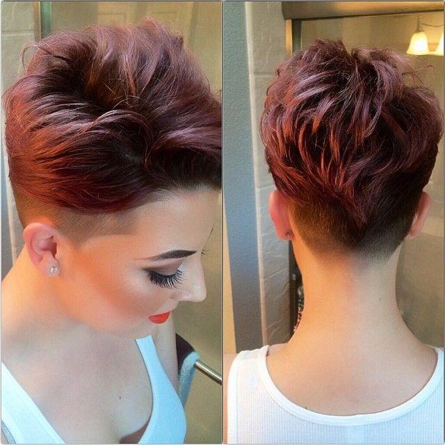 Cortos de pelo cortos con colores locos que crearán un nuevo look