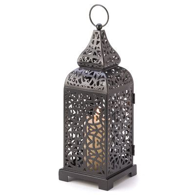 Zingz & Thingz Exotic Filigree Lantern