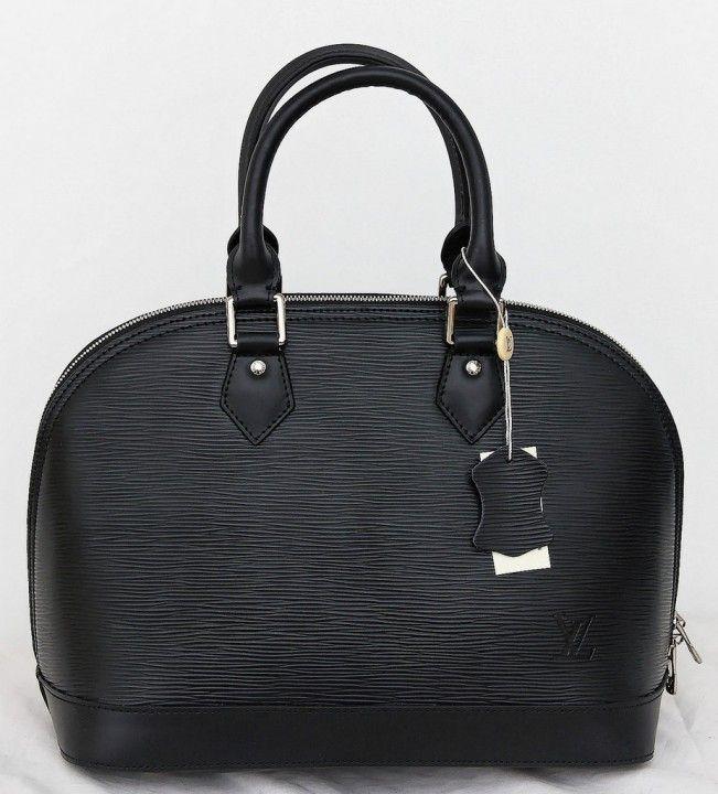 Сумка Louis Vuitton Alma MM натуральная кожа рифленая Epi Leather