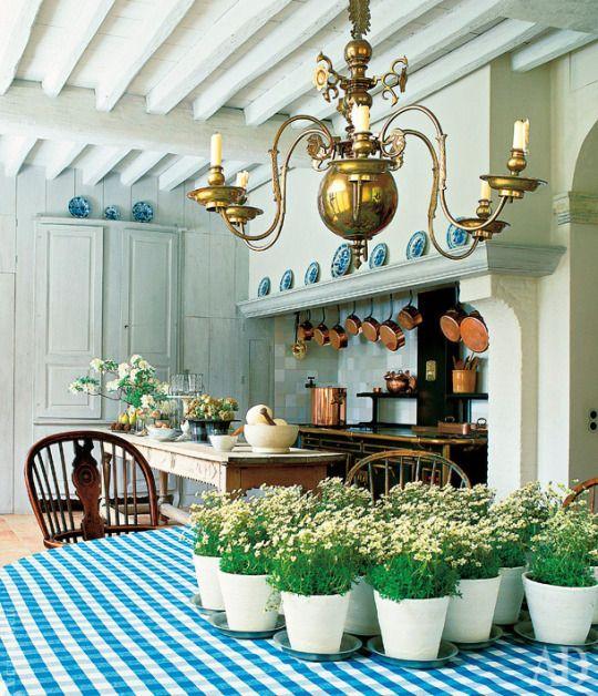 Axel Vervoordt ~ his kitchen