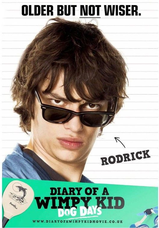Diary Of A Wimpy Kid Dog Days Posters And Trailer