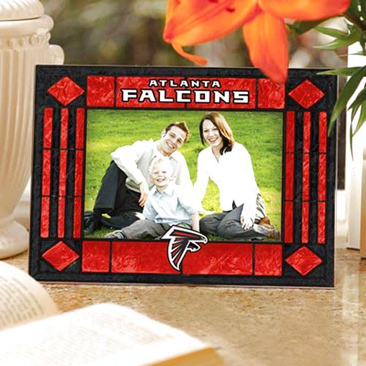 Atlanta Falcons Red Art-Glass Horizontal Picture Frame - $15.19