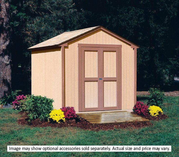 Backyard Sheds Kits: 25+ Best Ideas About Wood Shed Kits On Pinterest